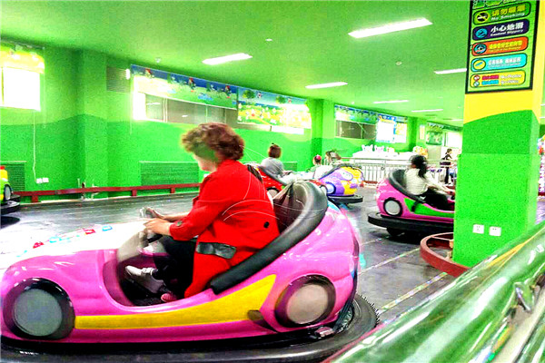 Dinis Popular Sale Dodgem Car Running in Customers Shopping Mall Business