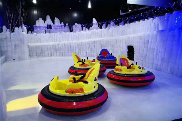 Ice Bumper Car for Sale in Winter Parks for Adults Fun