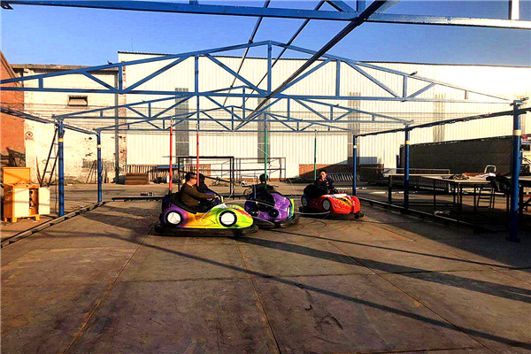 Floor-Grid Electric Bumper Cars for Sale