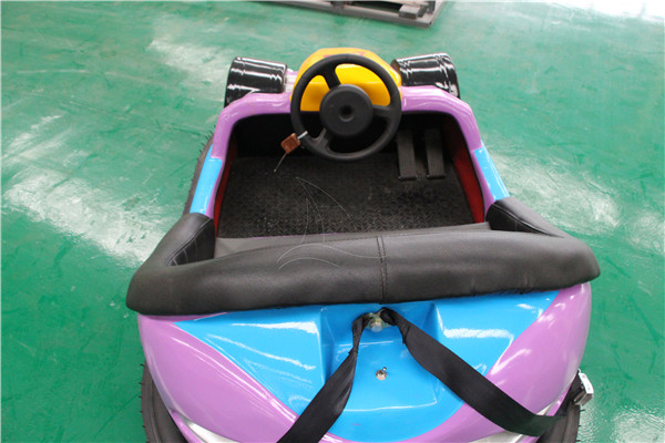 Rear Wheel Driven Battery Part Bumper Car for Sale